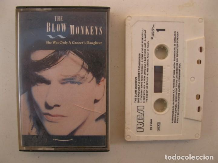 CASETE - THE BLOW MONKEYS - SHE WAS ONLY A GROCER'S DAUGHTER - RCA - AÑO 1987 - CINTA DE CASETTE. (Música - Casetes)