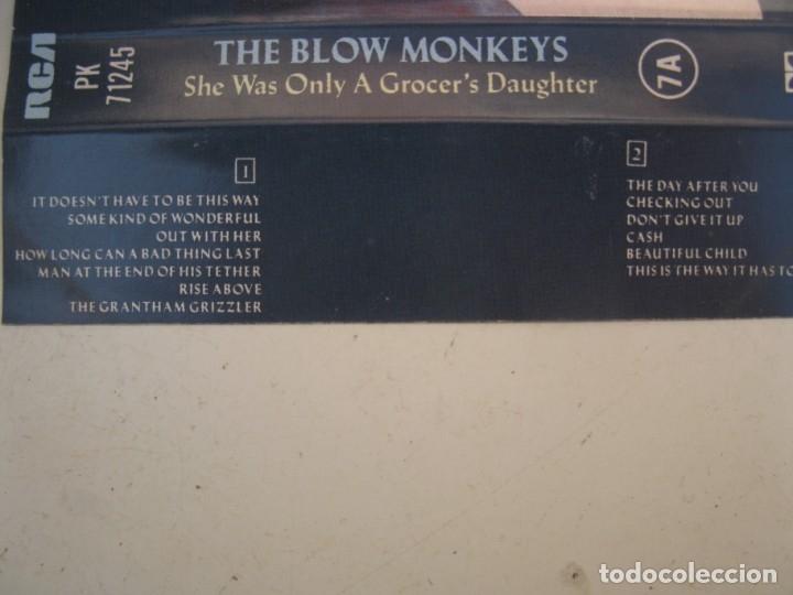Casetes antiguos: CASETE - THE BLOW MONKEYS - SHE WAS ONLY A GROCER'S DAUGHTER - RCA - AÑO 1987 - CINTA DE CASETTE. - Foto 2 - 152137342
