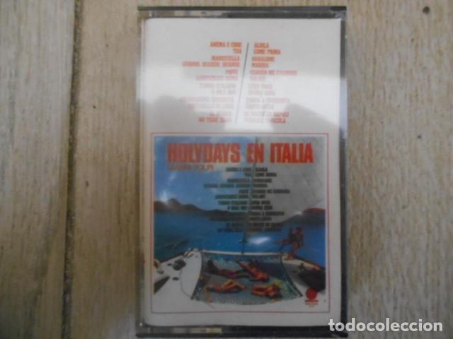 CASETE CASSETTE HOLYDAYS EN ITALIA, GIANNI VOLPI . NUEVO , PRECINTADO . (Música - Casetes)