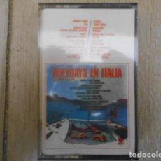 Casetes antiguos: CASETE CASSETTE HOLYDAYS EN ITALIA, GIANNI VOLPI . NUEVO , PRECINTADO .. Lote 152152086