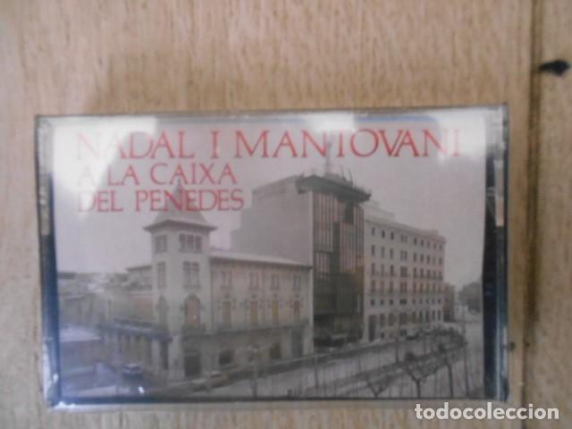 CASETE CASSETTE NADAL I MANTOVANI , CAIXA DEL PENEDES . NUEVO , PRECINTADO . (Música - Casetes)