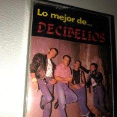 Casetes antiguos: DECIBELIOS (GRANDES EXITOS. LO MEJOR DE) CASSETTE ESPAÑA 1987 DRO. Lote 152493574