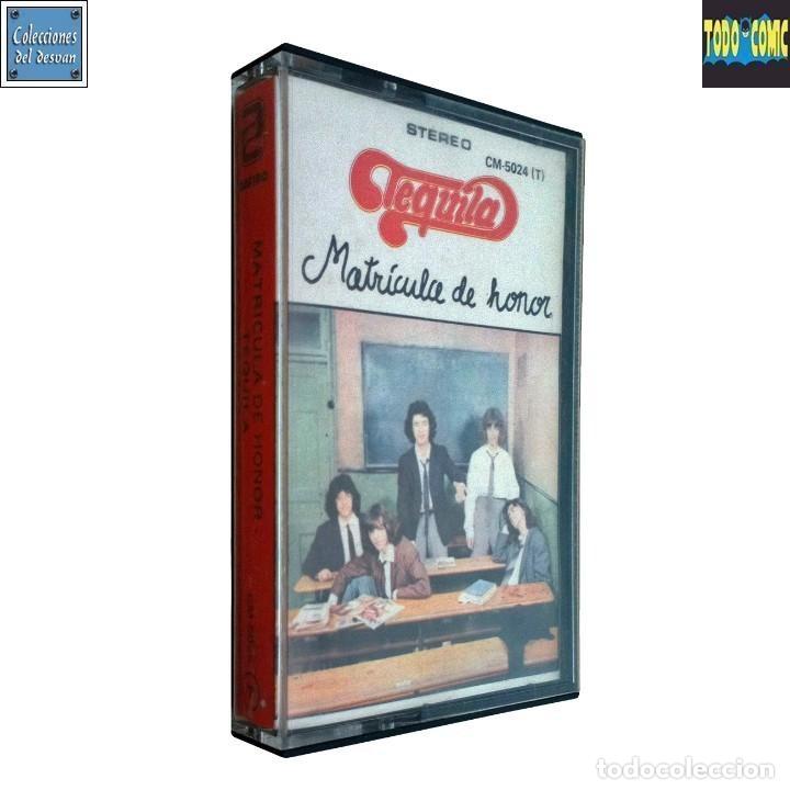 MATRÍCULA DE HONOR / TEQUILA / CINTA CASETE CASSETTE EDICIÓN ROJA / ZAFIRO 1984 (STEREO) (Música - Casetes)