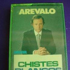 Casetes antiguos: CHISTES BLANCO DE AREVALO CASETE OLYMPO - HUMOR RISA CACHONDEO - SIN APENAS USO. Lote 152589798