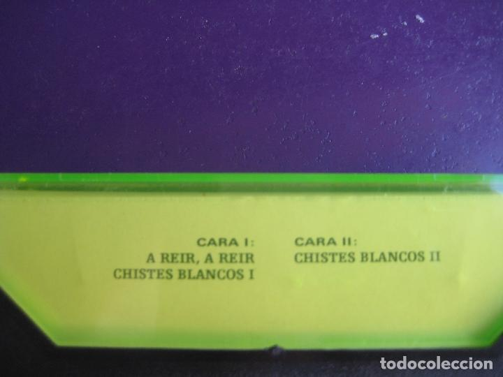 Casetes antiguos: CHISTES BLANCO DE AREVALO CASETE OLYMPO - HUMOR RISA CACHONDEO - SIN APENAS USO - Foto 2 - 152589798