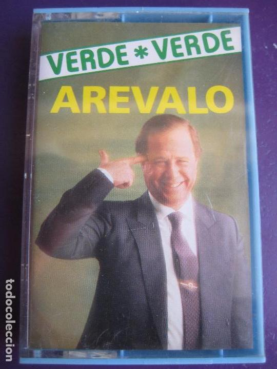 CHISTES VERDE VERDE - AREVALO CASETE OLYMPO - HUMOR RISA CACHONDEO - SIN USO (Música - Casetes)