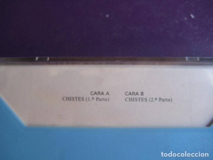 Casetes antiguos: CHISTES VERDE VERDE - AREVALO CASETE OLYMPO - HUMOR RISA CACHONDEO - SIN USO - Foto 2 - 152589970