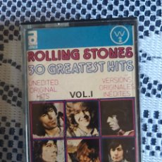 Casetes antiguos: ROLLING STONES. 30 GREATEST HITS CASSETTE 1977. Lote 153410908