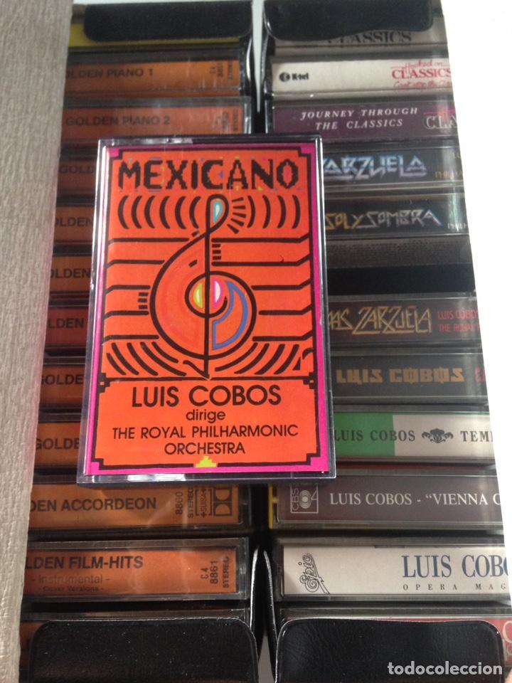 Casetes antiguos: COLECCIÓN CASSETTES - INSTRUMENTOS 2001, CLASSIC, L. COBOS, MEXICANAS - Foto 2 - 153901749