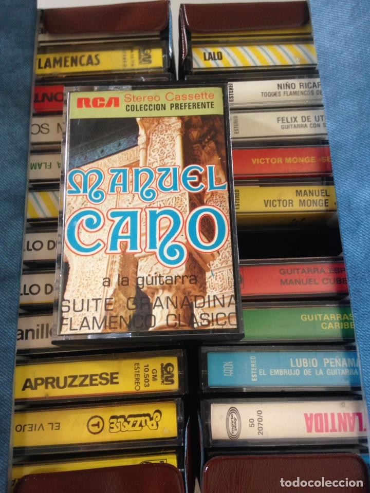 Casetes antiguos: COLECCIÓN CASSETTES - GUITARRAS VARIAS, ORGANILLO ETC - 24 CASSETTES - Foto 2 - 154018789