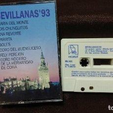 Casetes antiguos - CASETE CASETTE SEVILLANAS - 154537490