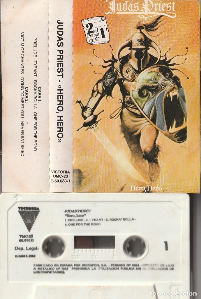 JUDAS PRIEST - HERO, HERO, VOL. 1 (CASSETTE VICTORIA 1982 ESPAÑA) (Música - Casetes)