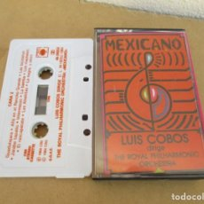 Casetes antiguos: CASETE LUIS COBOS MEXICANO. Lote 155039994