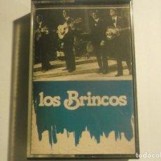 Casetes antiguos: LOS BRINCOS-MUY RARA. Lote 155691142