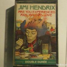 Casetes antiguos: JIMI HENDRIX EXPERIENCE-ARE YOU EXPERIENCED-MUY RARA. Lote 155692586