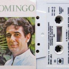 Casetes antiguos: PLACIDO DOMINGO - ALWAYS IN MY HEART. Lote 155705030