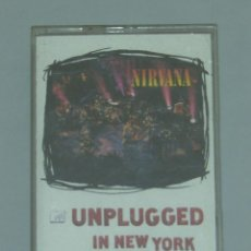Casetes antiguos: NIRVANA - UNPLUGGED IN NEW YORK - CASETE - 1994. Lote 155746230
