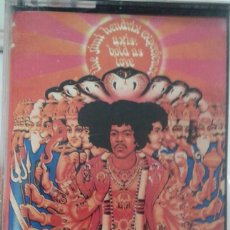 Casetes antiguos: THE JIMY HENDRIX EXPERIENCE - AXIS: BOLD AS LOVE - POLYDOR - HEAVY ROCK. Lote 155795690