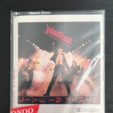 Casetes antiguos: JUDAS PRIEST UNLEASHED IN THE EAST (LIVE IN JAPAN) CBS  40-32392 1983 CASSETTE CASETE PRECINTADO . Lote 155961066