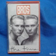 Casetes antiguos: - BROSS - THE TIME - CBS 1989. Lote 155992962
