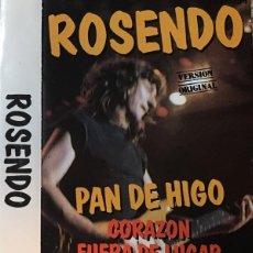 Casetes antiguos: ROSENDO - PAN DE HIGO 1988 RARO CASSETTE - LEÑO. Lote 156845670