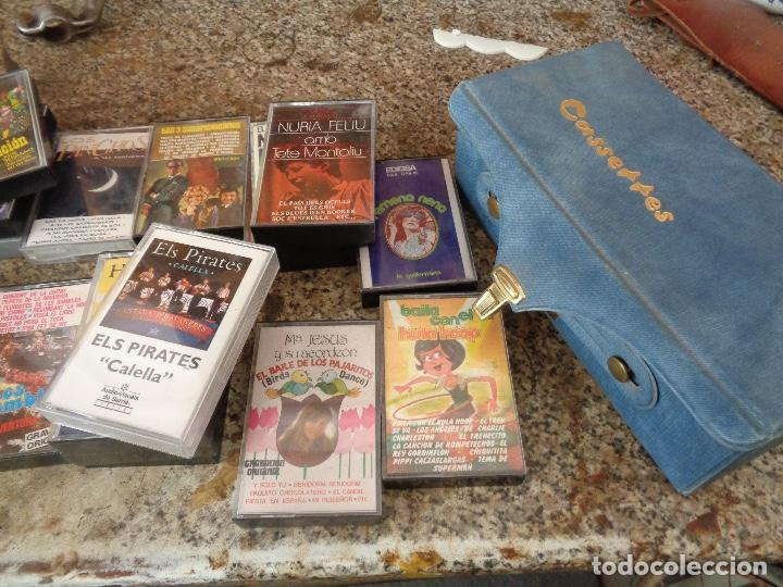 Casetes antiguos: treinta casetes de diferentes artistas - Foto 2 - 157679206