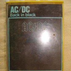 Casetes antiguos: AC/DC BACK IN BLACK CASETE EDICION ESPAÑOLA 1980. Lote 157907898