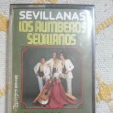 Cassetes antigas: LOS RUMBEROS SEVILLANOS-SEVILLANAS. Lote 157907978