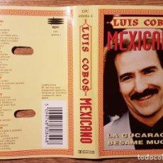 Casetes antiguos: CASETE DE LUIS COBOS. MEXICANO. Lote 157920466