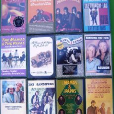 Casetes antiguos: LOTE 12 CASETES - THE MAMAS & THE PAPAS, MONKEES, MOODY BLUES, C.S,N. & Y., SHANGRI-LAS. Lote 158702506