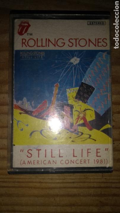 ROLLING STONES STILL LIFE CASETE (Música - Casetes)