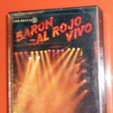 Cassette antiche: CASETE ANTIGUO AÑO 1984 - BARON AL ROJO VIVO VOL 2 - SERDISCO ZAFIRO - BARON ROJO - HEAVY ROCK. Lote 159066878