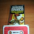 Casetes antiguos: MARCHAS MILITARES ESPAÑOLAS - BANDA AGRUPACION INFANTERÍA DE MARINA MADRID 1974. Lote 159466986