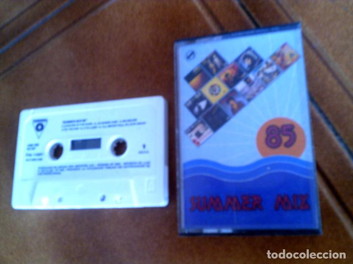 casete summer mix 85 musica disco ,mike mareen,the dons , max him ,video  kids y varios mas
