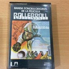 Cassette antiche: CINTA CASETE K7 CASSETTE - BSO PELÍCULA ROLLERBALL. ARIOLA, 1975. Lote 159689978