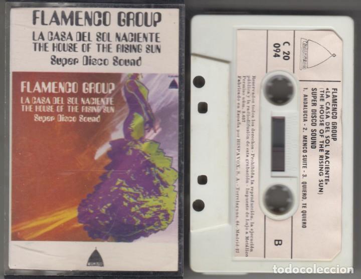 FLAMENCO GROUP CASSETTE LA CASA DEL SOL NACIENTE THE HOUSE OF RISING SUN 1978 SPAIN (Música - Casetes)