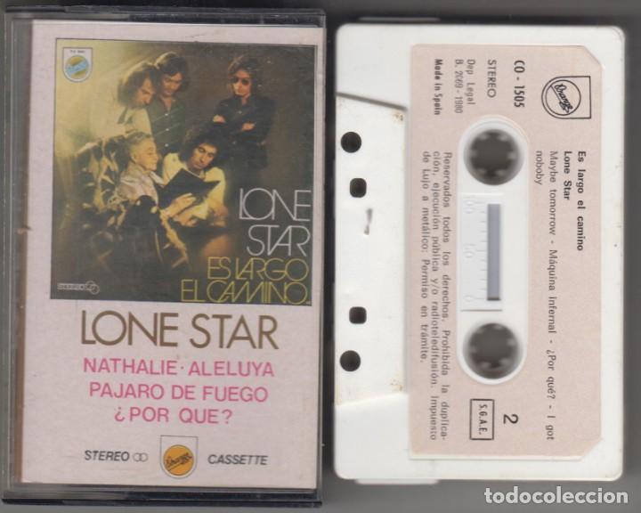 LONE STAR CASSETTE ES LARGO EL CAMINO 1980 (Música - Casetes)