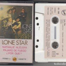 Casetes antiguos: LONE STAR CASSETTE ES LARGO EL CAMINO 1980 . Lote 160641726