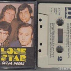 Casetes antiguos: LONE STAR CASSETTE OVEJA NEGRA 1985. Lote 160641942