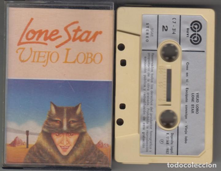 LONE STAR CASSETTE VIEJO LOBO 1982 (Música - Casetes)