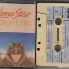 Casetes antiguos: LONE STAR CASSETTE VIEJO LOBO 1982. Lote 160642130