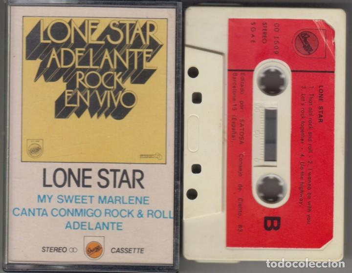 LONE STAR CASSETTE ADELANTE ROCK EN VIVO 1980 (Música - Casetes)