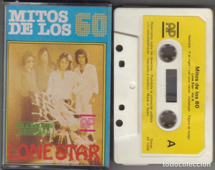 LONE STAR CASSETTE MITOS DE LOS 60 VOL. 6 1981 (Música - Casetes)
