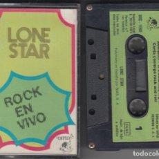 Casetes antiguos - Lone Star cassette Rock en Vivo 1975 - 160642970