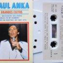 Casetes antiguos: PAUL ANKA - GRANDES ÉXITOS EN DIRECTO. Lote 160646154