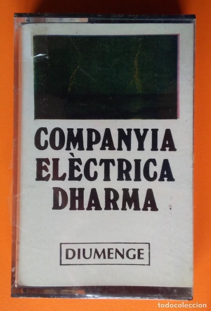 COMPANYIA ELECTRICA DHARMA DIUMENGE ZELESTE-EDIGSA CAS 30 UM 1975 PRECINTADA! (Música - Casetes)