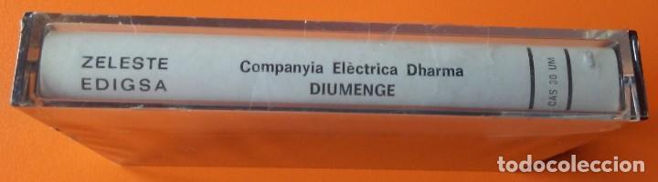 Casetes antiguos: COMPANYIA ELECTRICA DHARMA DIUMENGE ZELESTE-EDIGSA CAS 30 UM 1975 PRECINTADA! - Foto 3 - 161212458