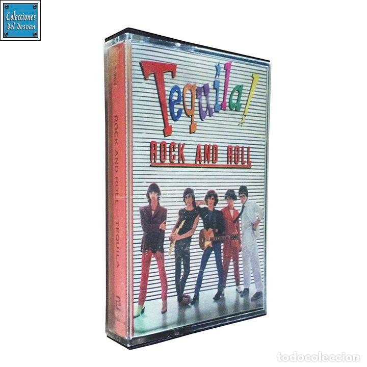 TEQUILA ROCK AND ROLL / CINTA CASETE CASSETTE / ZAFIRO 1979 (STEREO) (Música - Casetes)
