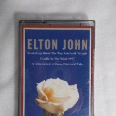 Casetes antiguos: ELTON JOHN - IN LOVIN MEMORY OF DIANA. PRINCESS OF WALES. Lote 161731594