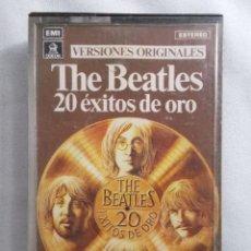 Casetes antiguos: THE BEATLES - 20 ÉXITOS DE ORO . Lote 161731850